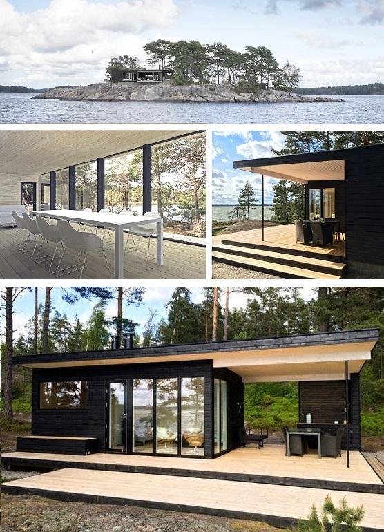 каркасные финские бани лучшее 2019