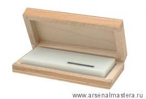 Брусок абразивный натуральный 6000-8000 100х40х12 мм Арканзас белый Narex 895600
