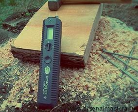 Влагомер для древесины игольчатый (диапазон 5-20 проц) Gann DICK (Dictum) 707314 М00015236