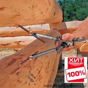 Выгодный КОМПЛЕКТ: плотницкая черта Veritas Log Scriber 05u05.01 М00003546 и 10 карандашей М00004897 за полцены! Ver 05U0501-kom-AM ХИТ!