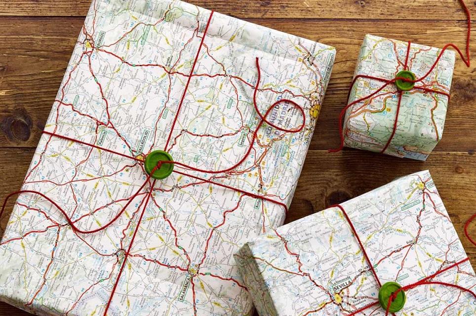 упаковать подарок мужчине в карту