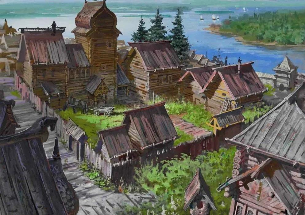 Строительство дома на РУСИ: приметы и обычаи
