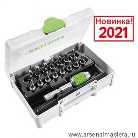 Набор бит Pozidrive SYS3 XXS CE-PZ BHS 60 Festool 205824 Новинка 2021 года !