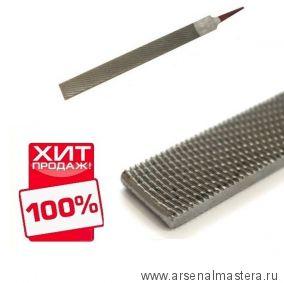 Рашпиль японский Iwasaki красный прямой плоский 200 х 20 мм шаг 1,2 мм Miki Tool CP-20E М00010280