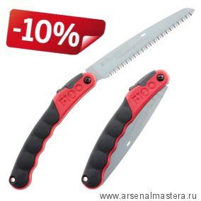 Пила Silky F180 180 мм 7,5 зуб / 30 мм красная рукоять складная М00003855