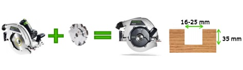 Дисковая пила FESTOOL HK 85 EB-Plus-FS (Фестул HK 85)