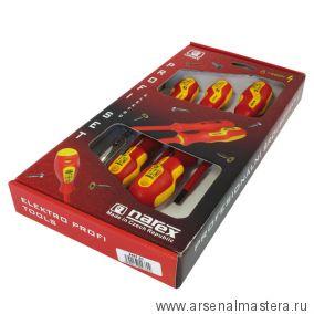 Набор из 5 отверток S Line Electro Profi (PH, ШЛИЦ, тестер) Narex 8557 60