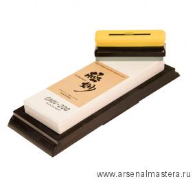 Заточной абразив 20000 Suehiro Gokumyo 205х73х20мм на подставке с камнем для восстановления Miki Tool М00015622