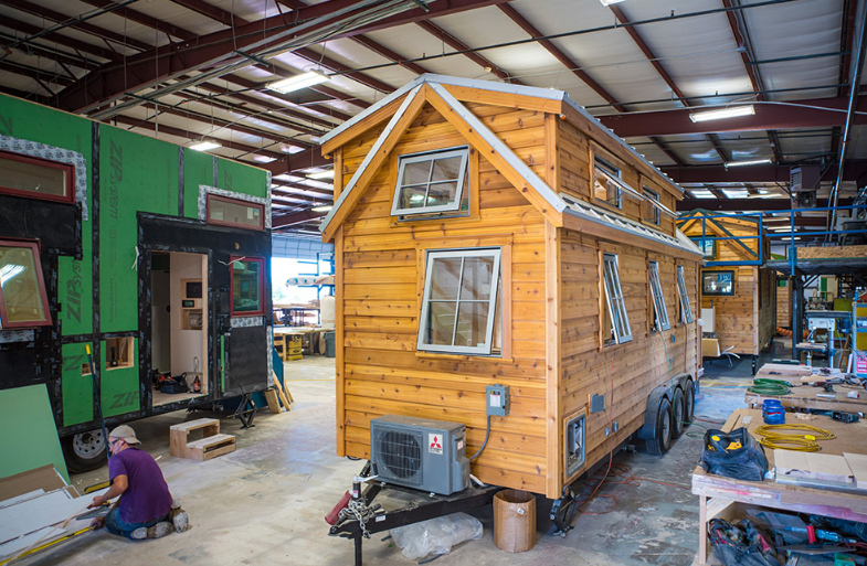 Компания Tumbleweed Tiny House Co.