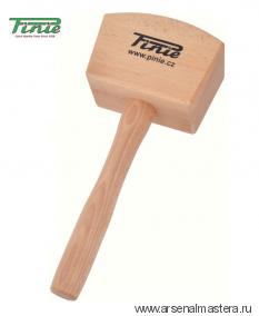 Киянка деревянная квадратная 105х65 мм PINIE 52-1