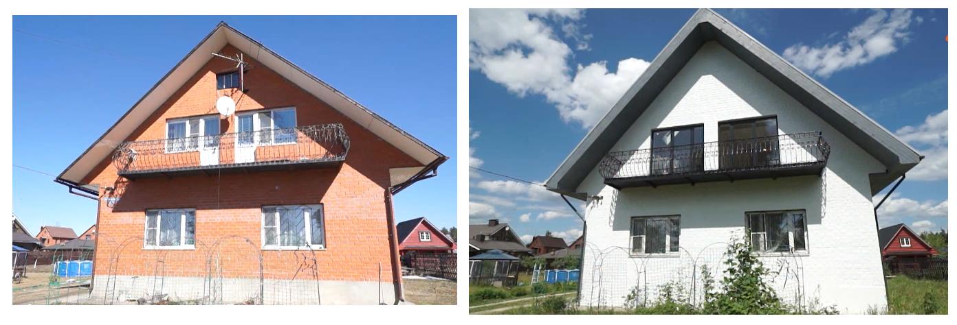 Реконструкция фасада загородного дома 2019