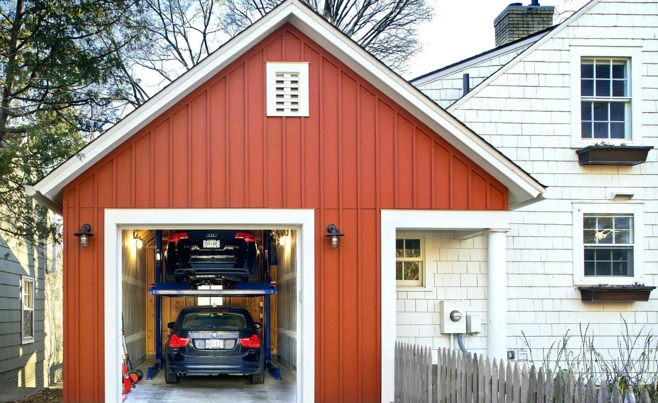 Вспомогательные помещения можно удачно вписать в дом