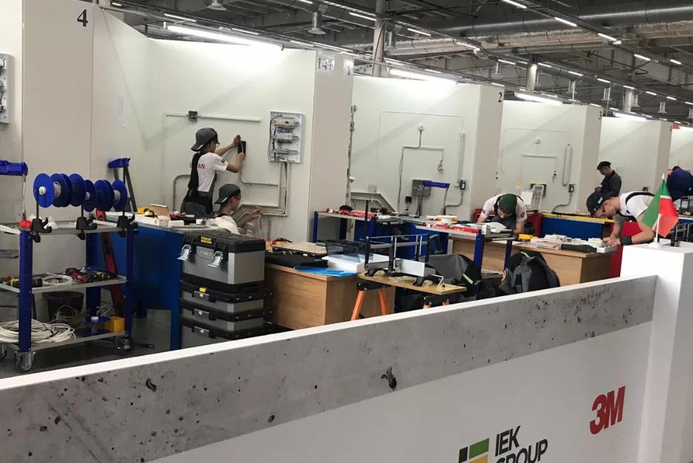 Партнером уровня GOLD на WorldSkills 2019  была компания 3М