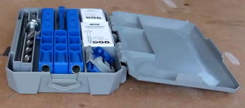 Приспособление Kreg Pocket-Hole Jig 320 ПОЛНЫЙ комплект для выполнения соединений на глухих отверстиях при работе с деревом купить