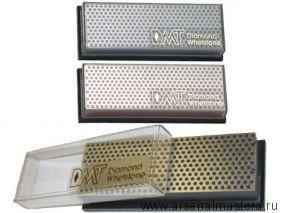 Брусок абразивный алмазный DMT Whetstone 152x50 220 grit на подставке М00000573