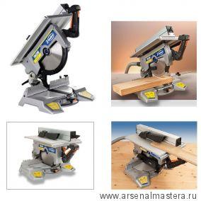 Пила маятниковая торцовочная с лазерным указателем 1.5кВт диск 300мм, наклон 0-45 гр. TM33W VIRUTEX 3300400