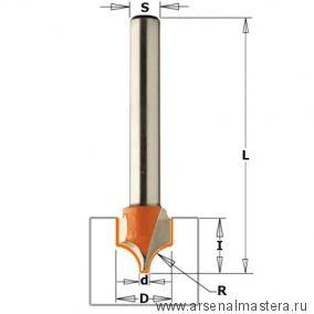 CMT965.402.11 Фреза концевая для гравирования и декорирования D10 I10 S8 R5