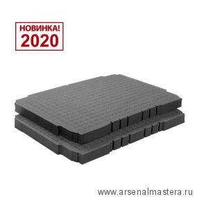 Вставка поролоновая  2 шт. SE-VAR SYS3 M/2 Festool для систейнера 3 M 204942 Новинка 2020 года!