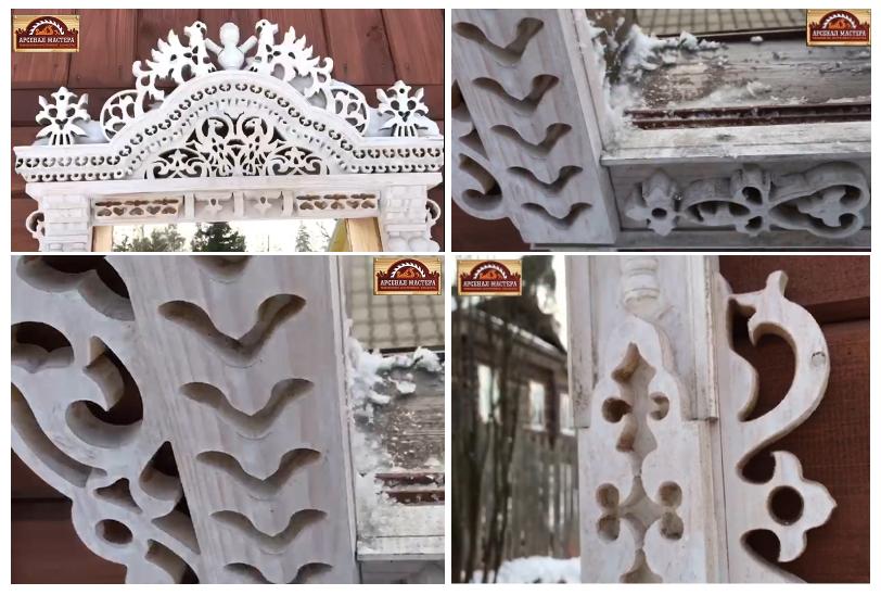 Фанпроект Окна с деревянными наличниками