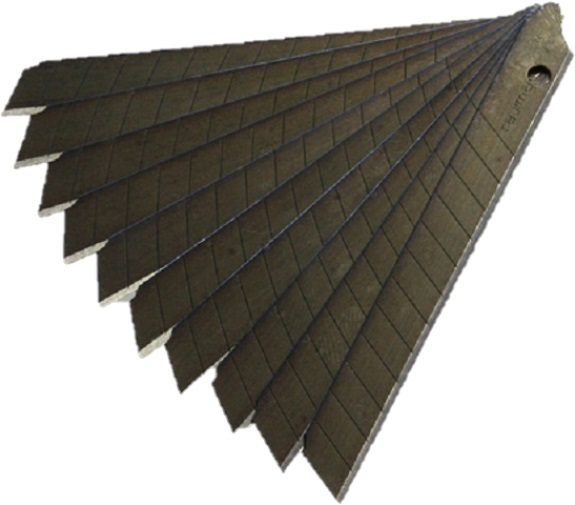 фото Лезвия TAJIMA LСB-30 9 мм черные лезвия LB30RBC