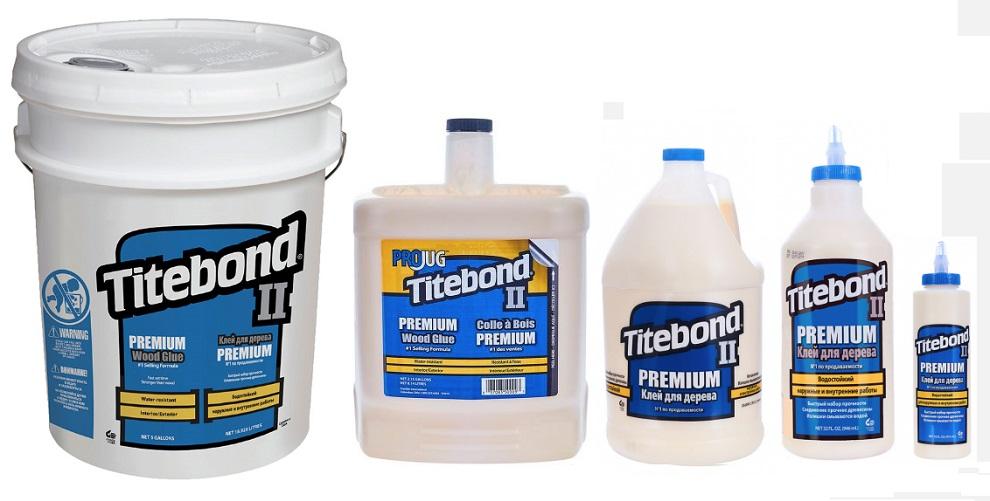 Клей столярный влагостойкийTitebond II Premium