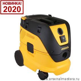 Профессиональное пылеудаляющее устройство (пылесос) объем 30 л Mirka DE 1230 L PC 230 В с функцией ручной очистки фильтра 8999100111 Обновленная версия 2020 года