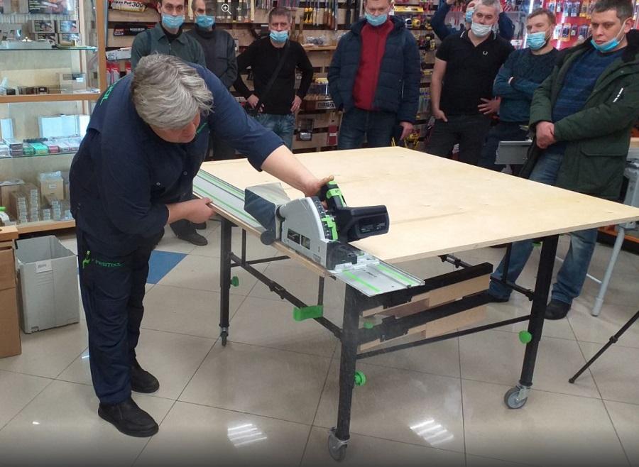 Раскроечный стол - верстак на колесах STM 1800 FESTOOL