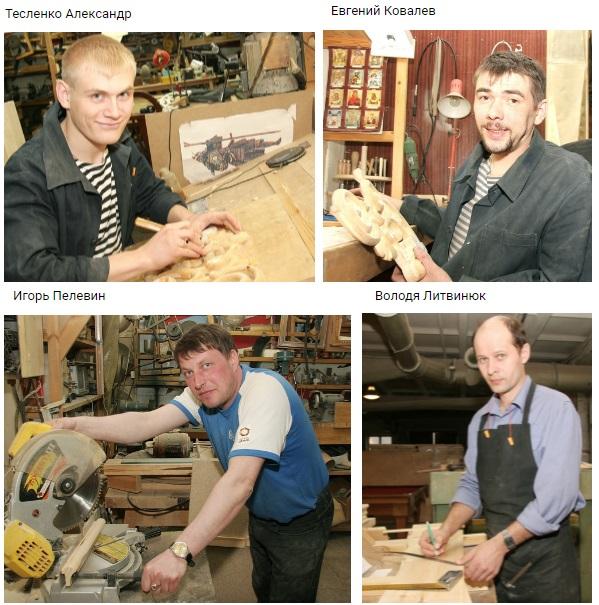 Резные умельцы Творческой мастерской города Серова