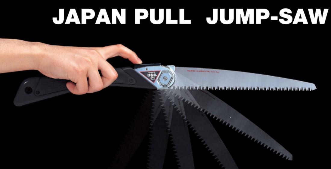 Фото Складная японская ручная пила TAJIMA Jump-Saw