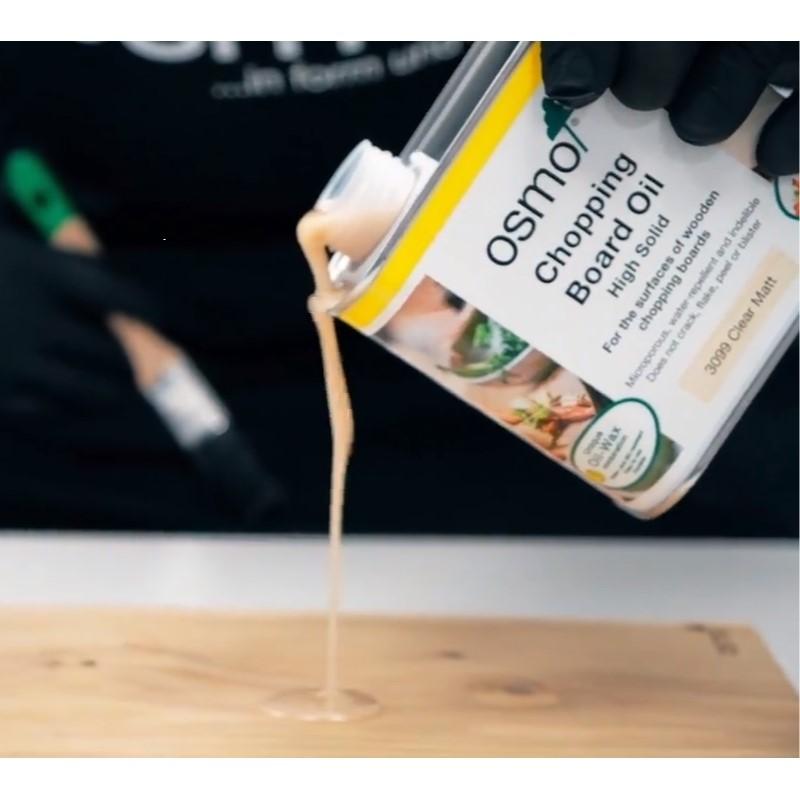 Применение Масло Osmo CHOPPING BOARD OIL