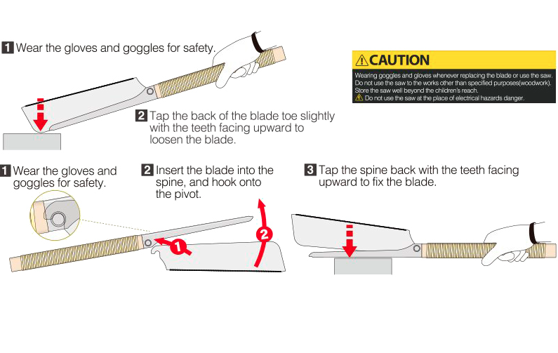 Kataba HANDY UTILITY H-200 ножовка