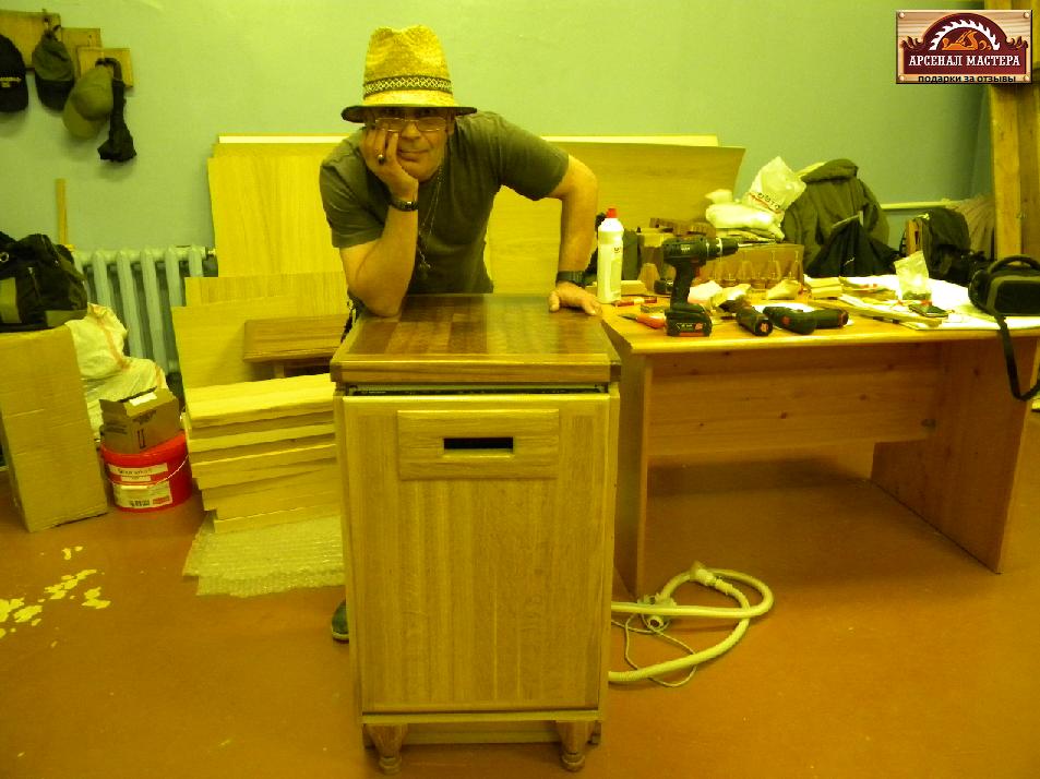 Сергей прислал фото своих изделий и мастерской