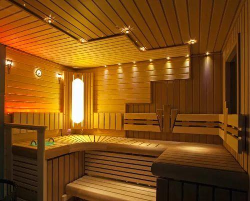 Точечный свет в бане