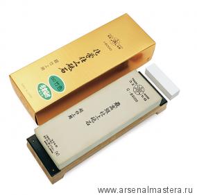 Заточной абразив 8000 Suehiro 206х73х23мм на подставке, с нагурой/бамбуковый цвет Miki Tool М00014379