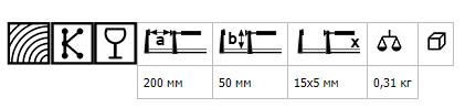 Струбцина небольшого веса LMU BESSEY LMU20-5