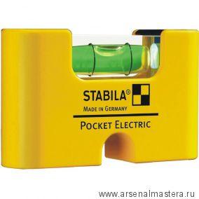 Уровень пузырьковый STABILA Pocket Electric  арт.17775