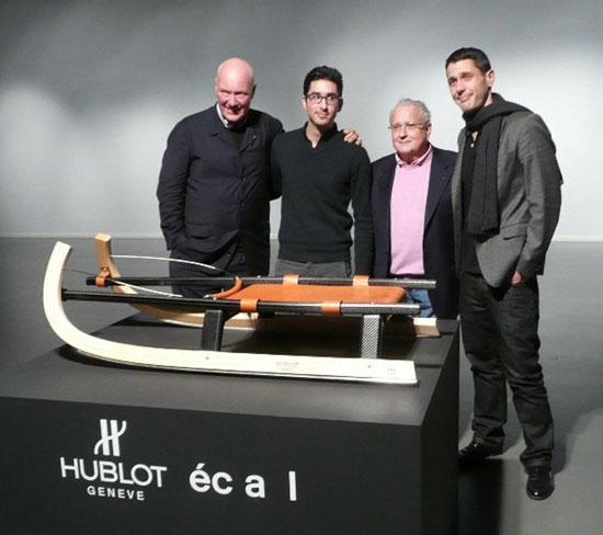 санки от компании HUBLOT - самые дорогие санки в мире