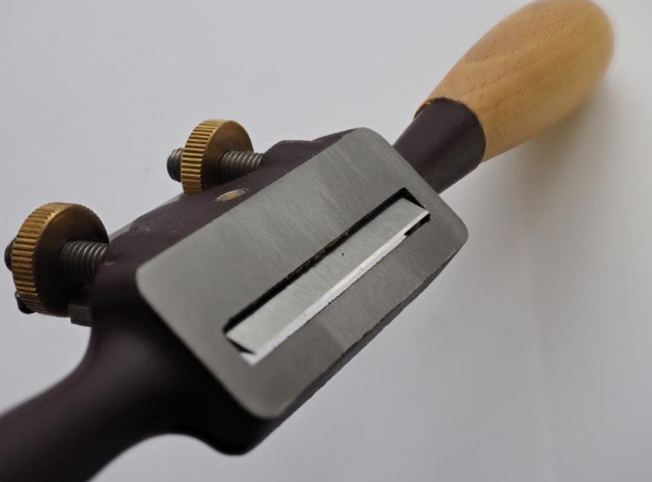 Стружок Dick с плоской колодкой с прямым лезвием, 280мм/50мм