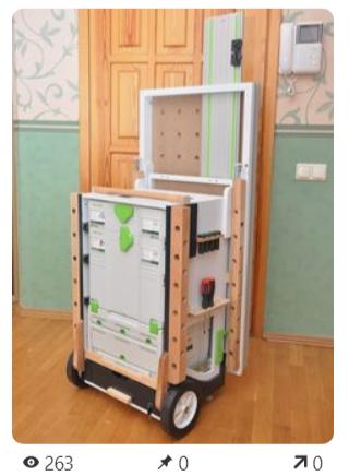 Фото применения и самодельные варианты Рабочего Стола Festool MFT /3  фестул МФТ