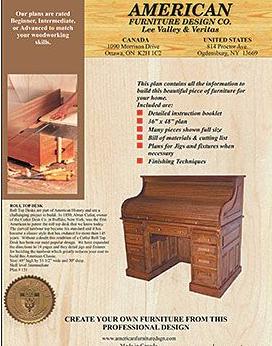 План-схема с чертежами стола