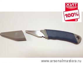 Нож-косяк японский Kiridashi 165х18х2 мм правая заточка пласт.рукоять пласт. ножны Miki Tool M00000002399 ХИТ!