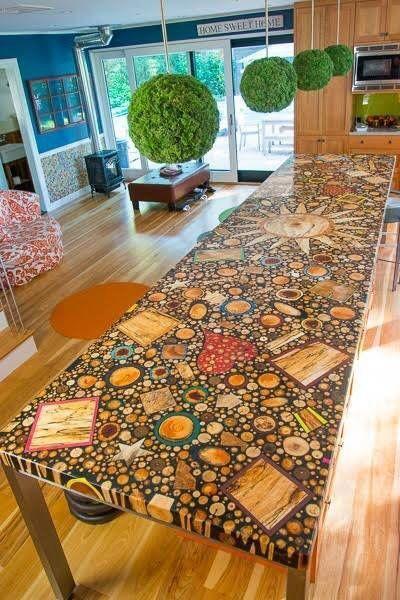 стол из дерева 2019 примеры