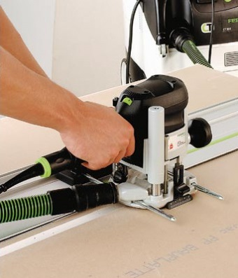 74335 Вертикальный фрезер FESTOOL OF 1010 EBQ-Plus, в контейнере T-Loc