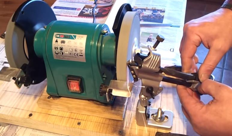 Стойка для заточки сверел, диаметр от 3 мм до 19 мм