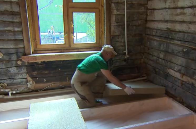 инструмент фестул Таким образом осуществлен ремонт стен и пола