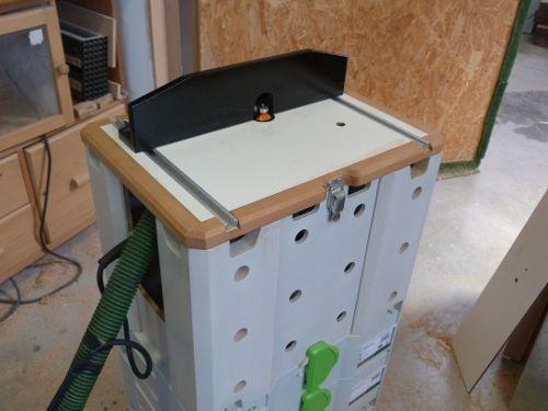 систейнер фрезерный стол