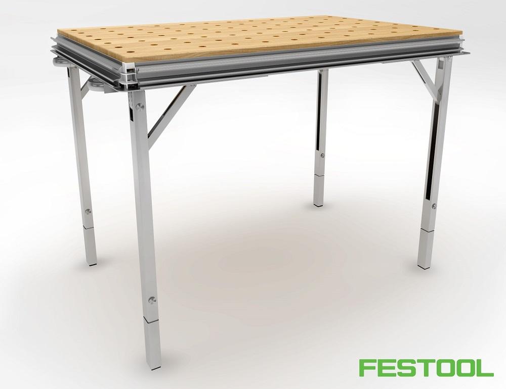 Измененное основание стола MFT 3 с новыми ножками