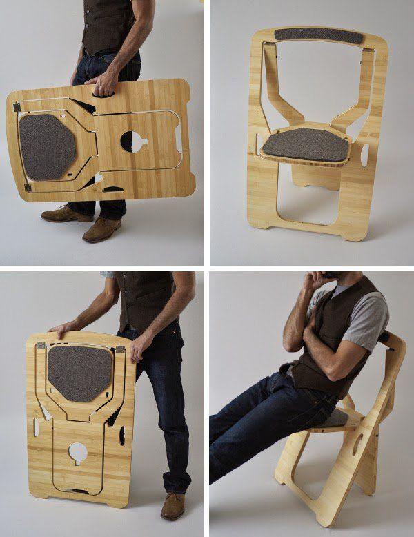 Можно изготовить объемную мебель из плоских элементов