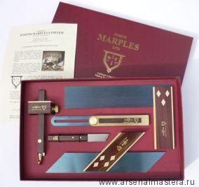Премиум набор измерительных инструментов J.Marples Trial 1, 5 предметов JM T1-BOX М00005082