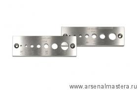 Пробочник Lie-Nielsen Dowel Plate, отверстия 3, 4, 6, 8, 10, 12 и 16 мм М00006515